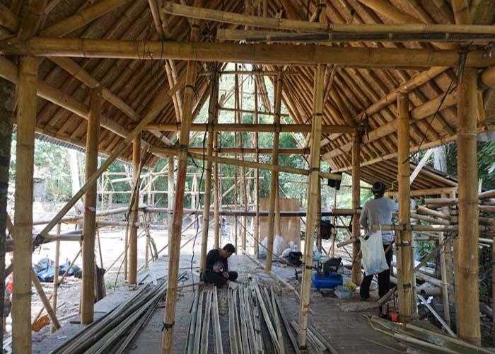 Bali intern bamboo