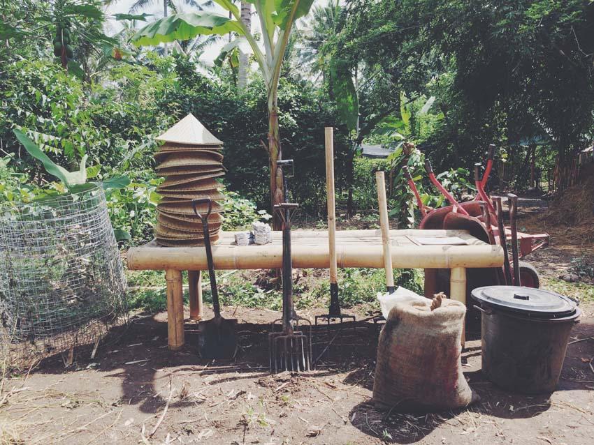 gardening in bali