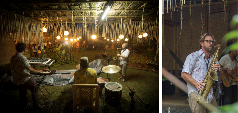Permaculture Bali Farm Music