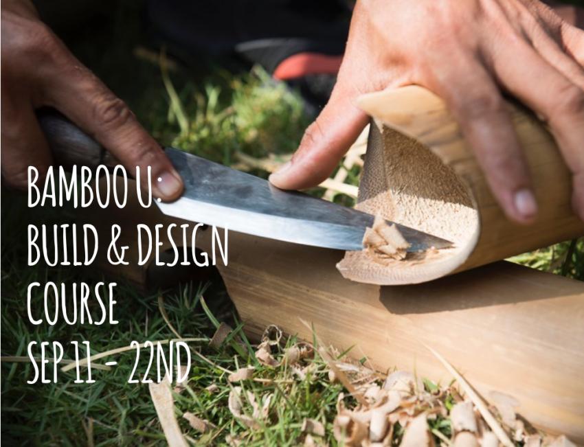 Bamboo U: with Ibuku and The AA School of Architecture