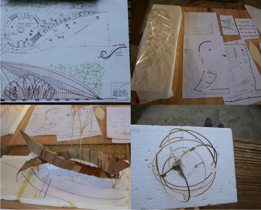 Model Making Bali Bamboo u 2