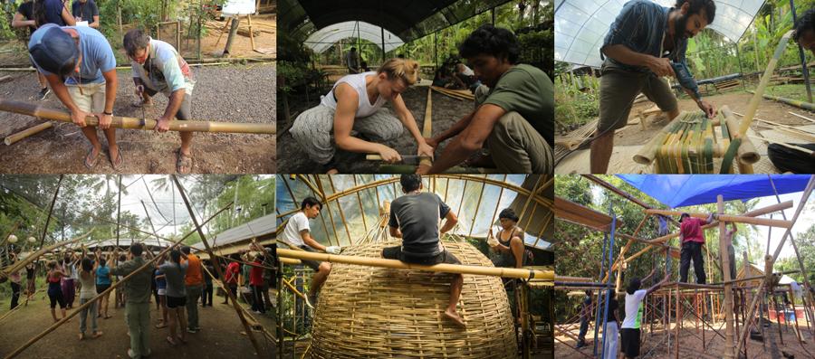 Bamboo Building Course bali 2