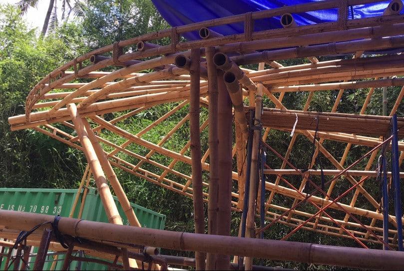 bamboo building course bali