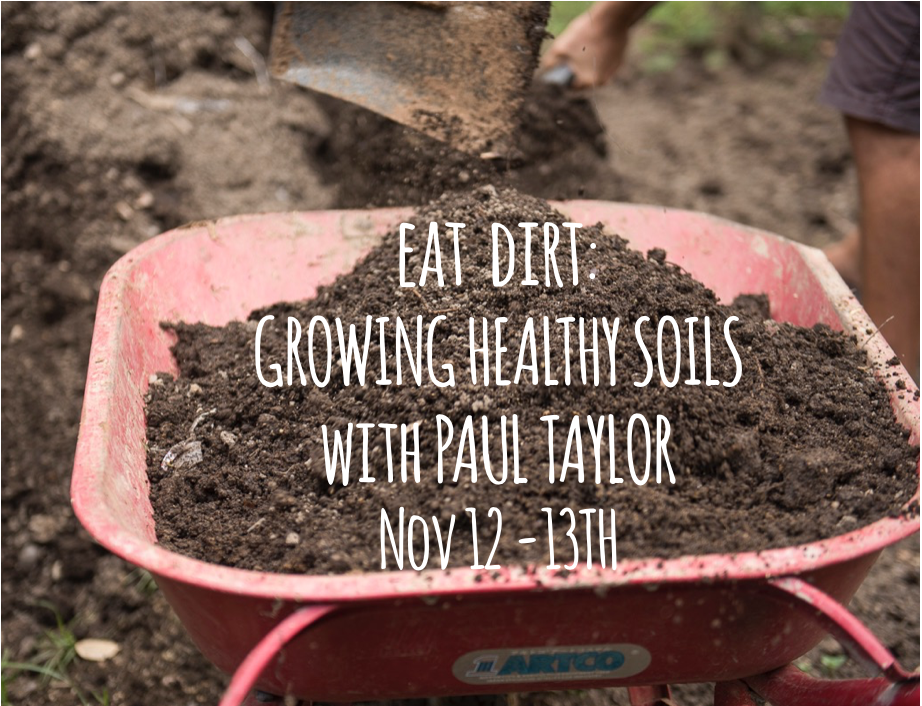 Eat Dirt: Growing Healthy Soil with Paul Taylor