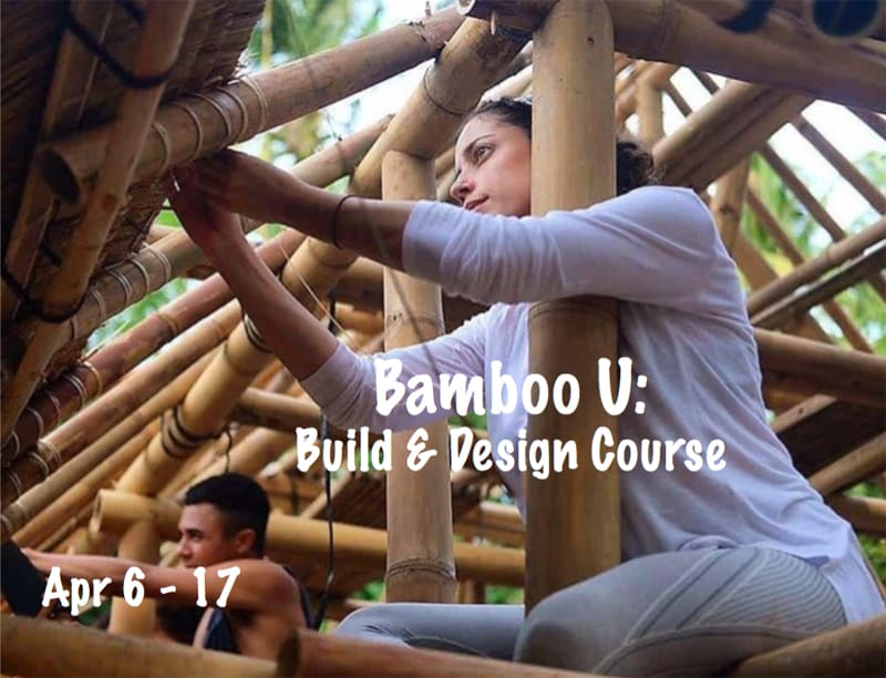 Bamboo U: A Build and Design Course in collaboration with IBUKU