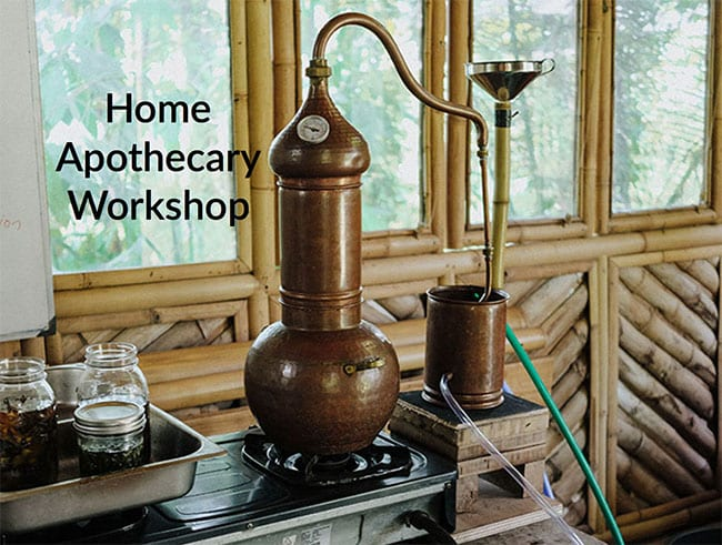Home Apothecary Workshop